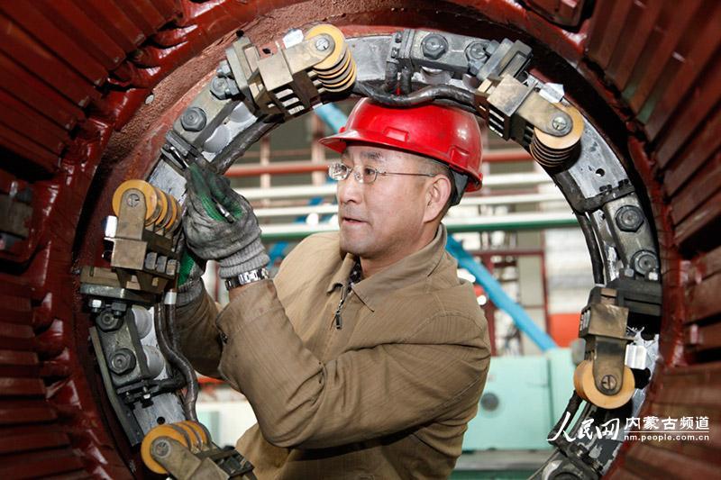 电机维修54槽12集3路接线图