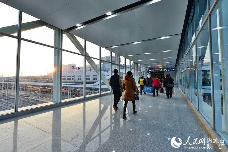 呼和浩特火车站北场拨接施工顺利完成