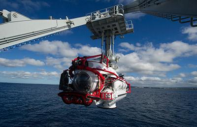 """参加""""环太平洋-2016""""演习的长岛船成功组织援潜救生演习"""