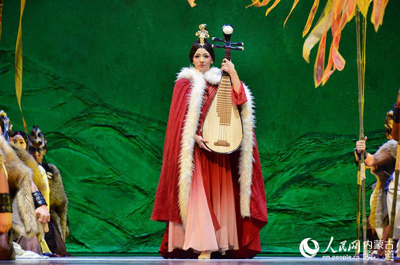 舞剧《昭君》拉开第十七届中国・呼和浩特昭君文化节帷幕