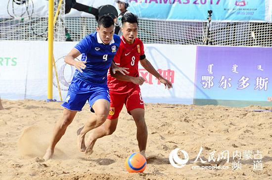 2016年首届亚洲沙滩足球锦标赛伊朗夺得冠军