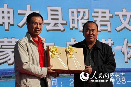 2016神木县昭君文化研讨会暨内蒙古自媒体神木行活动启动