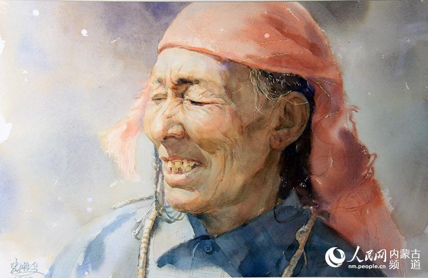 ·白云·内蒙古2016写生作品展在呼和浩特民