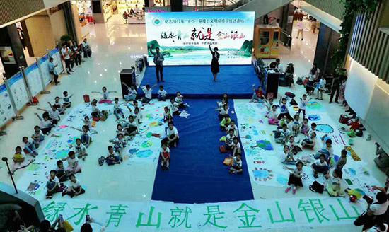 绿色环保宣言_通辽:用画笔传唱绿色文明--内蒙古新闻-内蒙古频道--人民网