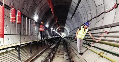 地铁1号线建设马力全开
