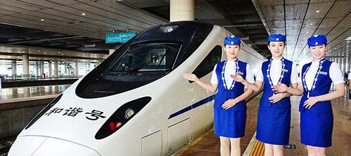 内蒙古首条高铁正式开通