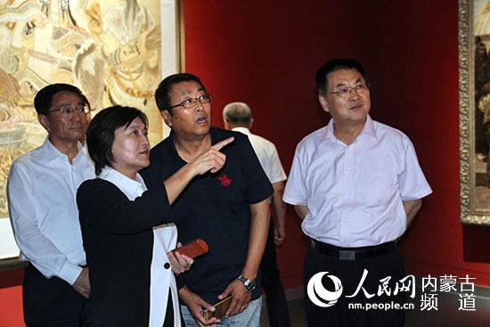 内蒙古美术馆新馆开馆系列展在呼和浩特市开幕