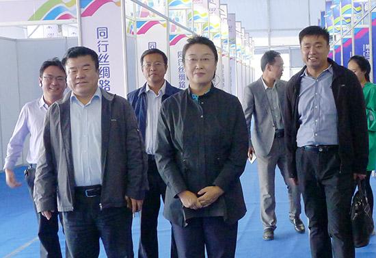 中国·海拉尔第十三届中俄蒙经贸洽谈暨商品展销会开幕