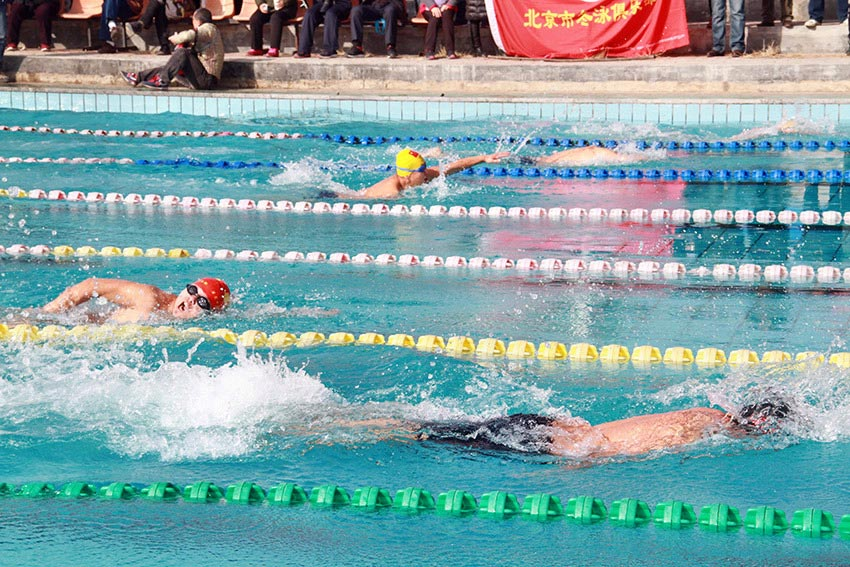 2018年第七届国际冬泳精英挑战赛在呼和浩特开赛
