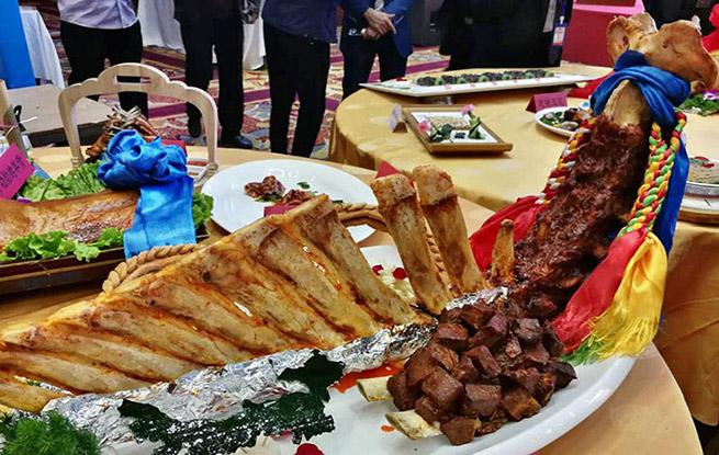 第四届内蒙古美食文化节在呼和浩特开幕