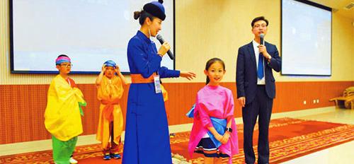 博物院里感受民族传统文化魅力