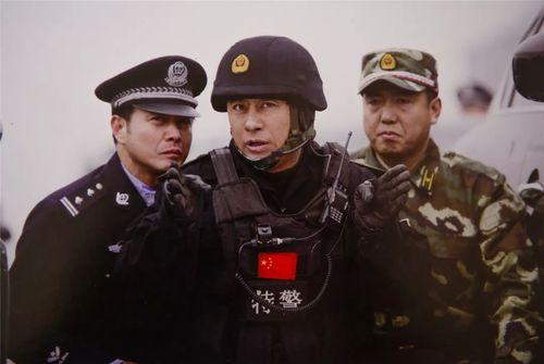 杨凡的《中国特警》剧照