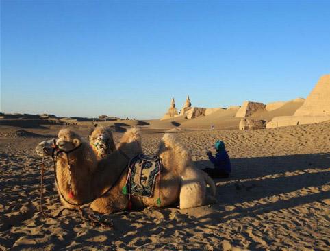 千年沧桑大漠黑城