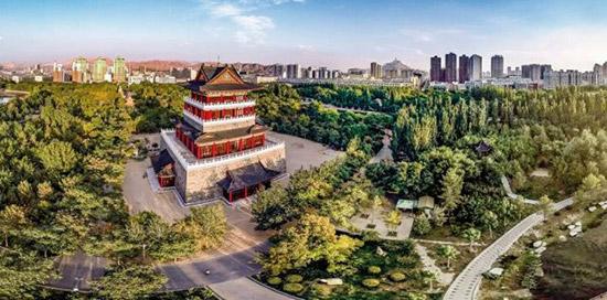 中国推介 之 书法之城 乌海 请到沙漠来看海图片