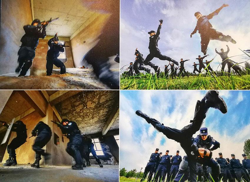 内蒙古公安系统纪念改革开放40周年书法美术摄影展开展