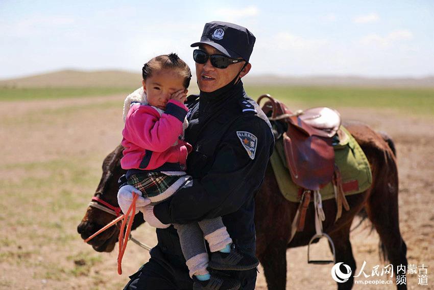 草原上的马背警队【10】