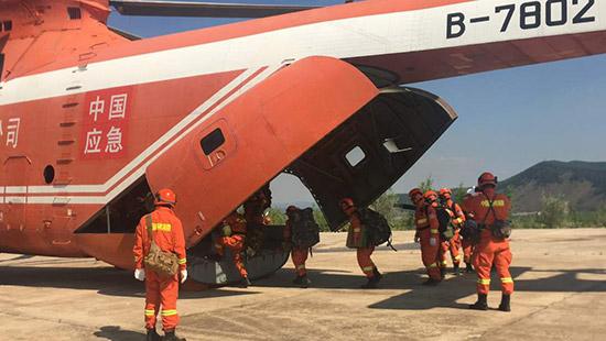 内蒙古大兴安岭林区18起火灾已扑灭17起 均为雷击火