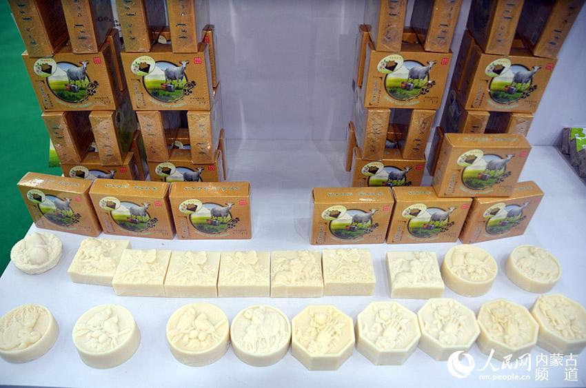 造型独特的羊奶香皂