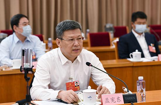 孟宪东代表:坚持人民至上思想 专注造福人民事业