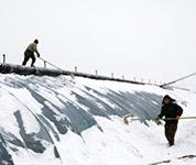 内蒙古东部降雪持续