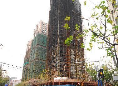 上海高层住宅火灾受灾居民获房租补贴
